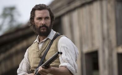 Matthew McConaughey je nebezpečný Američan bojujúci za práva černochov a slobodu ľudí