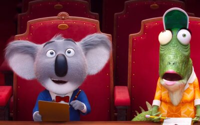 Matthew McConaughey spieva s kolegami v Hollywoode ako animovaná koala v prvom traileri pre animák Sing