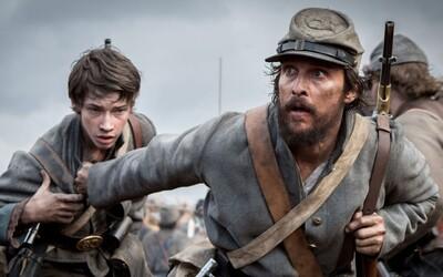 Matthew McConaughey vám v 7-minútovej ukážke z historickej drámy ukáže, že boj za slobodu si vyberá tú najvyššiu daň
