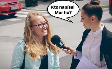 Maturity potrápili Slovákov v uliciach. Vedel by si povedať, kto napísal Mor ho! alebo kto to bol Jozef Tiso?
