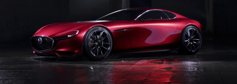 Mazda oživí legendárny športiak RX-7, dôkazom toho je koncept RX-Vision s Wankelom pod kapotou!