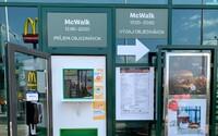 McDonald otvára popri McDrive aj McWalk. Pre jedlo si zájdeš aj pešo bez toho, aby si vošiel dnu