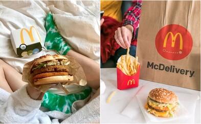 McDonald's na Slovensku spúšťa donáškovú službu. McDelivery bude v rámci Bratislavy donášať Wolt