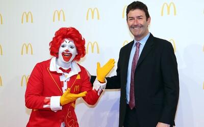 McDonald's žaluje svého bývalého šéfa. Podřízeným měl výměnou za sex přidělovat štědré dotace