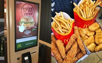 McDonald's na Slovensko konečne privezie samoobslužné kiosky na objednávanie jedla