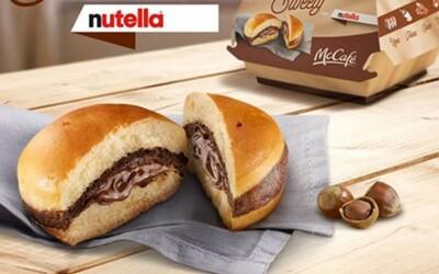 McDonald's uvedl na světlo světa nutellový burger. Milovníci rychlého občerstvení a čokoládové dobroty jsou u vytržení