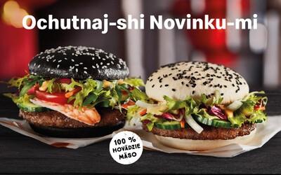 McDonald's uvedl nové asijské burgery Kreveta-shi a Kráva-shi