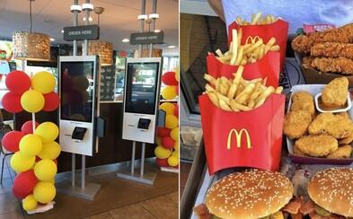 McDonald's už zajtra v Bratislave spustí prvé samoobslužné kiosky