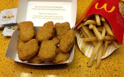 McDonald's začal nabízet veganské nugetky