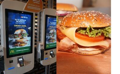 McDonald's zásadne mení svoje prevádzky. Jedlo ti donesú až k stolu a burger si môžeš postaviť podľa seba