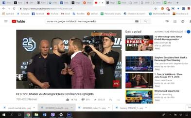 McGregor prisľúbil Nurmagomedovu krv v oktagone. Na prvej tlačovke stihol manažérovi vynadať do teroristických bonzákov