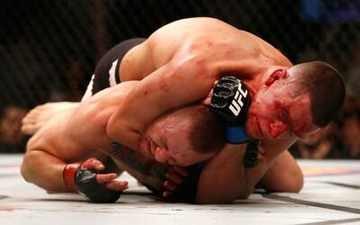 McGregor se dočkal přivítání ve welterové váze prohrou v druhém kole proti Diazovi