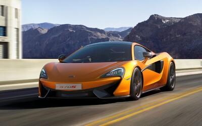 McLaren 570S: Nejmenší model automobilky, který si troufá i na nové Audi R8, přichází!