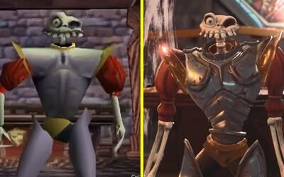MediEvil sa vráti na PlayStation už tento mesiac! Porovnanie grafiky teraz a spred 20 rokov vyráža dych