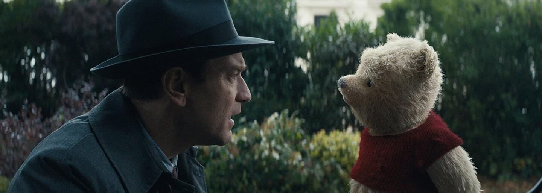 Medvedík Pú sa vracia, aby Ewanovi McGregorovi v čarovnej disneyovke Christopher Robin pripomenul jeho detstvo a silu priateľstva