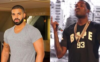 Meek Mill by sa pobil s Drakeom za 5 miliónov dolárov. Ako hostesku v ringu by chcel Nicki Minaj