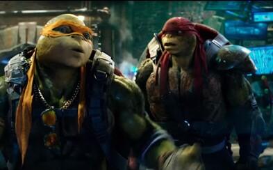Megan Fox a jej Ninja korytnačky čelia v Super Bowl Spote novému nepriateľovi