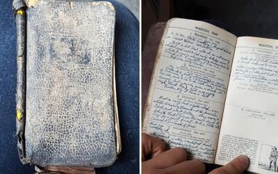 Měl ho zrecyklovat, ale zjistil, že jde o vzácný deník plný zápisků z roku 1941. Druhá světová válka získala další sérii příběhů