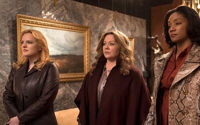 Melissa McCarthy a jej kamarátky musia viesť mafiánsky biznis vo svete mužov. Ich manželov totiž zatvorili do väzenia
