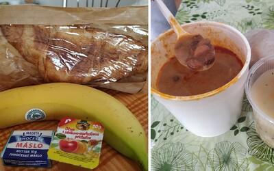 Menu v štátnej karanténe: Niektorí jedlo chvália, podľa iných je to čistý hnus