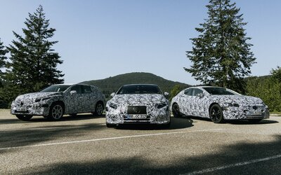 Mercedes-Benz chystá elektrickú ofenzívu. Elektromobily EQA, EQB, EQE či EQS klopú na dvere