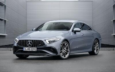 Mercedes-Benz CLS dostal v rámci modernizace sportovnější vzhled a Drift Mode