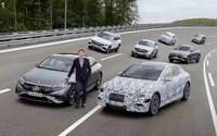 Mercedes-Benz je pripravený prejsť do roku 2030 výhradne na elektromobily. Chystá model s dojazdom vyše 1 000 km