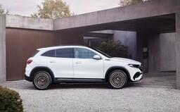 Mercedes-Benz predstavil svoj ďalší elektromobil. 190-koňové EQA ponúkne dojazd takmer 500 km