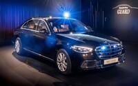 Mercedes-Benz tvrdí, že nové S 680 Guard je nejbezpečnější limuzínou na světě. Kvůli pancíři váží 5 tun