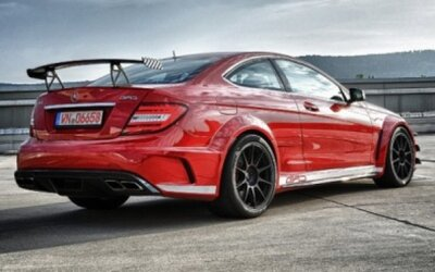 Mercedes C63 AMG Black Series od GAD-Motors: 850 koní!
