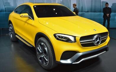 Mercedes GLC Coupe: Odvážny koncept oficiálne potvrdený pre sériovú výrobu!