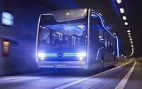 Mercedes představuje autobus zítřka: Nový milník na cestě k autonomní autobusové dopravě vypadá úchvatně