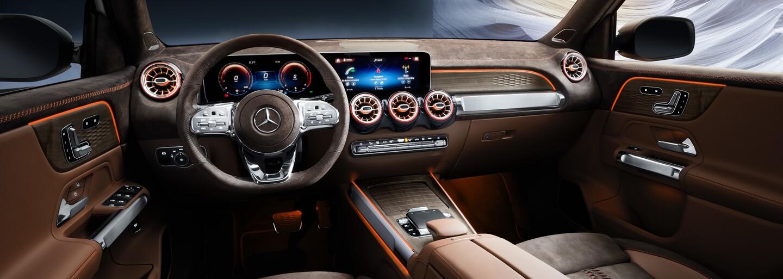Mercedes predstavuje ďalší úplne nový model. GLB bude akési kompaktné G-čko