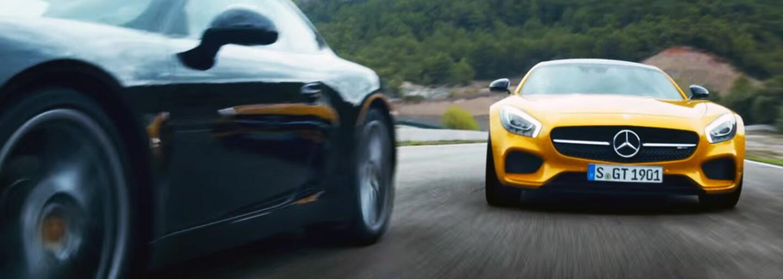 Mercedes útočí na Porsche a mění nejen dětské sny v reklamním spotu