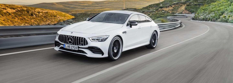 Mercedes-AMG rozširuje svoje portfólio o úchvatné 4-dverové GT-čko s vyše 600 koňmi