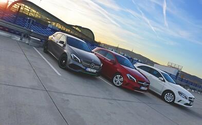 Mercedes-Benz A 160, A 180 a A 250 4Matic Motorsport Edition: Souboj srdce a rozumu (Test)