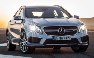 Mercedes-Benz GLA 45 AMG: Najostrejší crossover má 360 koní!