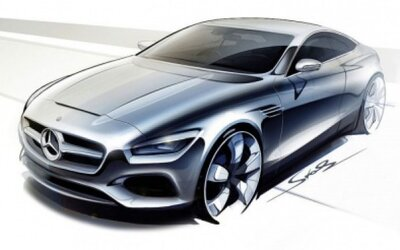 Mercedes-Benz S Coupe: Štýlový luxus zatiaľ ako koncept