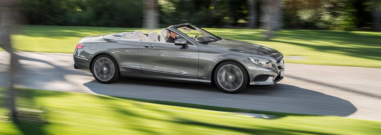 Mercedes-Benz s novou triedou S Cabriolet vstupuje do ríše ultra-luxusných vozidiel bez strechy