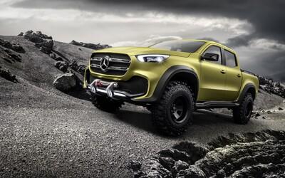 Mercedes-Benz s úplně novou třídou X nadále expanduje a představuje svůj pick-up