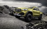 Mercedes-Benz s úplne novou triedou X naďalej expanduje a predstavuje svoj pick-up