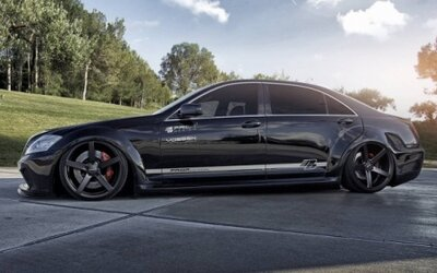 Mercedes-Benz triedy S Black Edition od Prior Design