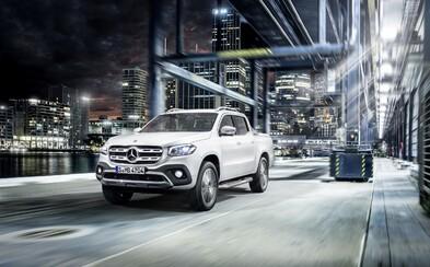 Mercedes-Benz vstupuje do nových vôd. Trieda X má vniesť prémiovosť medzi pracovné pick-upy