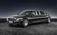 Mercedes-Maybach S 600 Pullman Guard: 5-tonová dávka maximálneho luxusu a bezpečia