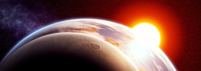 Mesiac nám predvedie polotieňové zatmenie v priaznivú večernú hodinu
