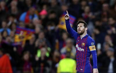 Messi dvěma góly pochoval Liverpool v prvním zápase semifinále Ligy mistrů