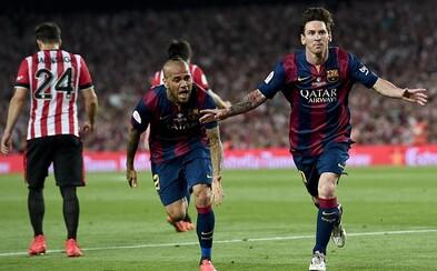 Messi sa opäť pohral s polovicou súperovho tímu a strelil nádherný gól