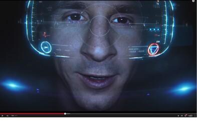 Messi se v bláznivé reklamě od Samsungu mění na Iron Mana