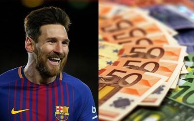 Messi zarába minimálne 285-tisíc eur za jediný deň. Unikla futbalistova zmluva, podľa ktorej len jeho výplata tvorí až 40 % výdajov na mzdy