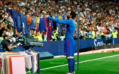 Messiho gólová oslava proti Realu Madrid dostala od internetu hromadu vtipných úprav. Sergio Ramos asi nebyl moc nadšený